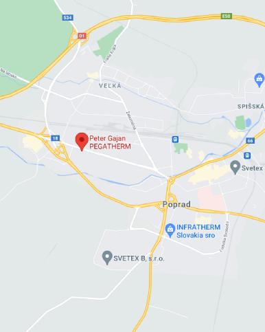 Adresa firmy PEGATHERM