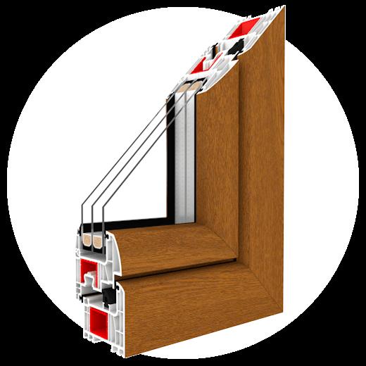 Okno Iglo Energy je autorský výrobok fifirmy Drutex, ktorý má inovačný systém utesňovania zaručujúci vynikajúce parametre v oblasti úspory energi